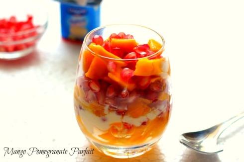 nepchin - Mango Pomegranate Parfait